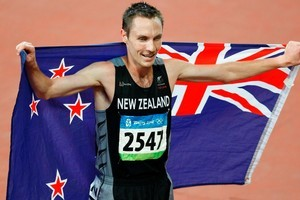 Exceptional: New Zealand Olympian Nick Willis after the Men's 1500 metre final at the 2008 Beijing Olympics. Photo / Kenny Rodger