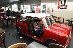 Kid-friendly Ark Cafe. Photo / Glenn Jeffrey