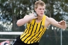 World junior champion Jacko Gill. Photo / NZ Herald