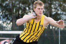 World junior champion Jacko Gill. Photo / NZ Herald