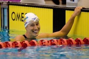New Zealand Commonwealth Games backstroker Melissa Ingram . Photo / Kenny Rodger
