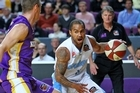 Kevin Braswell in action during the round one NBL match between the Sydney Kings and the New Zealand Breakers. Photo / Getty Images