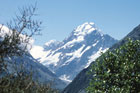 A view of Aoraki/Mt Cook from the Hermitage. Photo / Paul Rush