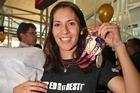 Squash double medallist Joelle King. Photo / Getty Images