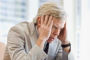 A 2008 study found depression peaks when people hit middle age (in their 40s). Photo / Thinkstock