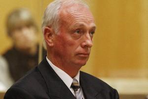 Greg Meads in court. Photo / Christine Cornege