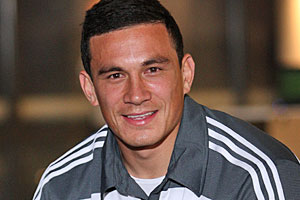 Sonny Bill Williams has the potential to turn the All Blacks into a devastating unit. Photo / Sarah Ivey