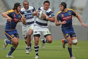Isaia Toeava of Auckland makes a break. Photo / Getty Images