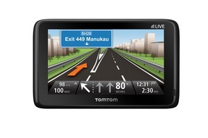 TomTom's Go Live 1000 and 1050 GPS units offer real time traffic updates.