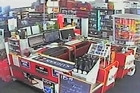 Watch items being thrown off shelves and doors flying open during yesterday's big aftershock.