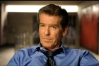 Pierce Brosnan stars as a former British PM alongside Ewan McGregor, who is hired to ghost write his memoirs and ends up embroiled in a cover-up. Photo / Supplied