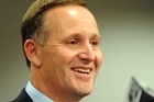 Prime Minister John Key announces that the Hobbit movies will be filmed in New Zealand. Photo / NZPA