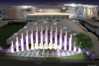 An artist's impression of the pavilion to be built at Eden Park that will be able to cater for 5000 people. Photo / Supplied