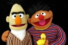 Bert and Ernie's long-term cohabitation has suggested to many that they may be more than just best friends. Photo / Supplied