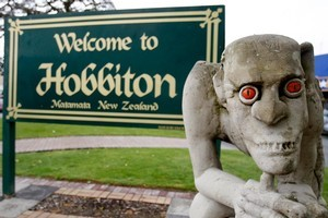 The Hobbit  is to be filmed in New Zealand. Photo / Christine Cornege
