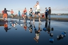 Competitors in last year's Auckland City Marathon. Photo / Paul Estcourt.