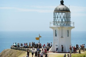 The tourism industry made $9.5 billion from international guests as visitors flocked to sights such as Cape Reinga. Photo / Greg Bowker