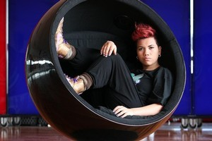 Parris Goebel, captain and choreographer of the all-women dance crew, ReQuest. Photo / Sarah Ivey