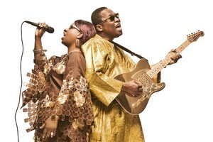 TRADITION MEETS MODERN: Amadou and Mariam conjure up a trance-inducing pop groove. Photo / Supplied