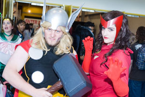 Thousands attended last weekend's Armageddon Expo at the Auckland Showgrounds. Photo / Herald on Sunday