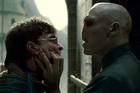 HORCRUX OF THE MATTER: Harry Potter (Daniel Radcliffe) comes face to face with his nemesis Lord Voldemort (Ralph Fiennes) in <i>Deathly Hallows</i>. Photo / Supplied