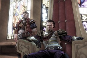 Choices you make in Lionhead's Fable III dictate how the game progresses. Photo / Supplied