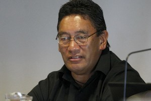 Hone Harawira said Tariana Turia had apologised to him privately a few months ago. File photo / Northern Advocate
