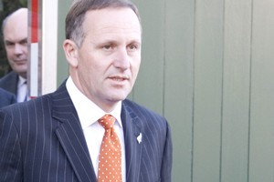 John Key. Photo / Mark Mitchell