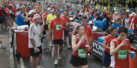 Runners in the Auckland marathon are linked to the foundations of democracy as we know it. Photo / Paul Estcourt