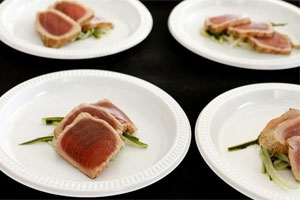 Tuna at the Auckland Seafood Festival. Photo / Supplied