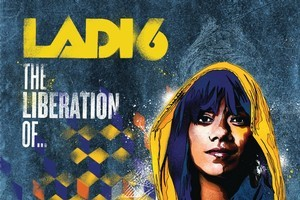 Ladi6's album cover for  The Liberation of... . Photo / Supplied
