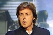 Paul McCartney. File Photo / AP