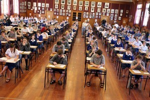 Wairarapa College pupils. Photo / Wairarapa Times-Age