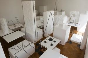 Peter Robinson's installation  Modern Standards . Photo / Paul Estcourt.