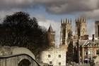 York wall and Minster - just the top of an historic iceberg. Photo / Supplied