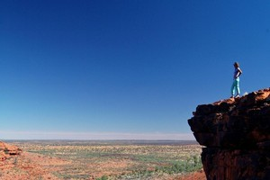 Take in the dramatic views at King's Canyon. Photo / Supplied