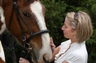 Bridget Lysaght has always had a love for horses and animals. Photo / Natalie Slade