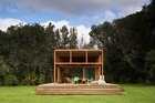 The house uses solar energy. Photo / Simon Devitt