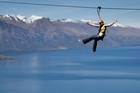 Ziptrek riders enjoy thrills with a view. Photo / Supplied
