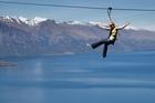 Ziptrek riders enjoy thrills with a view. Photo / Supplied