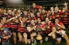 The commanding Cantabrians overcome Waikato's unbending spirit to claim the ITM Cup. Photo / Getty Images