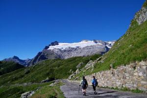 The Cristallina alpine hiking track affords dramatic vistas. Photo / Ticino Tourism