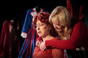 Michele Hine (L) plays Judith and Isla Adamson is Holly. Photo / Supplied
