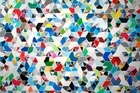 Colour Code 2010 by Sarah Hughes is a poised, balanced, geometric, classical abstraction. Photo / Supplied