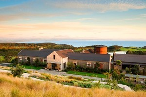 The price of the six-course degustation dinner includes three nights' accommodation at the exclusive Cape Kidnappers resort. Photo / Supplied