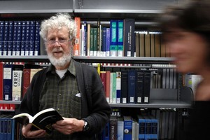 Jim Flynn has compiled a road map to literature. Photo / Otago Daily Times