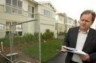 Patrick Fontein, at one of his developments, Kensington Park, in Orewa. Photo / Paul Estcourt