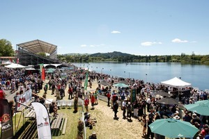 The Rowing World Championships at Lake Karapiro, Cambridge. Photo / Christine Cornege