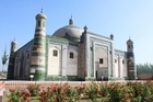 The Apak Hoja Tomb in Kashgar, China, makes the area an important site for Sufis. Photo / Jim Eagles