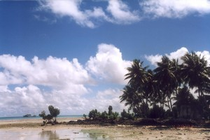 Small Pacific Island states including Kiribati are doing their best to keep the rest of world aware of their plight. Photo / Supplied